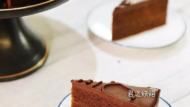 要说最经典的巧克力蛋糕,必须有它啦 | 萨赫蛋糕的做法