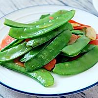 清炒荷兰豆的做法图解5