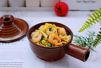 #带着零食去旅行!#黄瓜虾仁杂粮蛋炒饭的做法