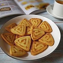 #晒出你的团圆大餐#咸蛋黄肉松饼干