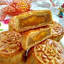#中秋团圆食味# 广式莲蓉蛋黄月饼