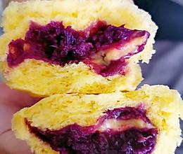 紫薯南瓜包的做法