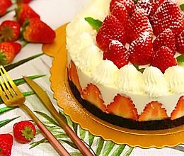 草莓酸奶芝士慕斯蛋糕的做法