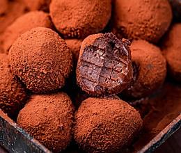顺滑浓郁入口即化的松露巧克力,简单到烤箱都不用的做法