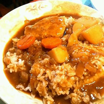 土豆咖喱牛肉饭