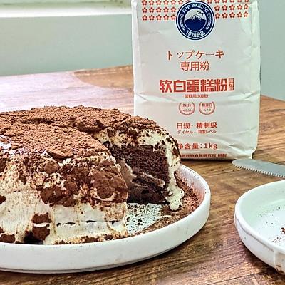 可可雪崩蛋糕