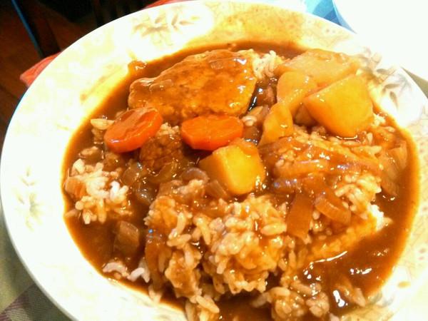 土豆咖喱牛肉饭的做法