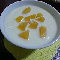 蒸锅版黄桃双皮奶的做法图解6