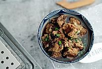香菇菜蒸排骨(蒸汽蒸制版)的做法