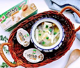 减脂菌菇豆腐汤的做法