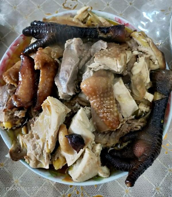 高压锅焖鸡的做法
