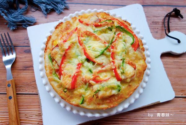 #秋天怎么吃#鲜虾培根披萨的做法