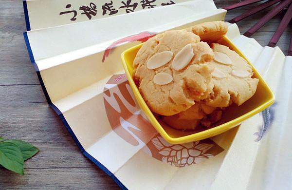 杏仁片酥饼