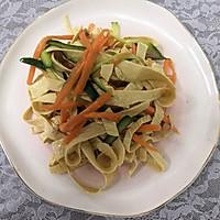#爽口凉菜,开胃一夏!#凉拌豆腐皮的做法图解13