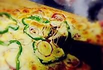 意大利萨拉米香肠披萨的做法