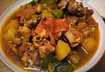 土豆青椒大盘鸡的做法