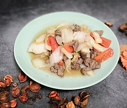 牛肉炒大白菜的做法