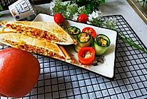 #十分钟开学元气早餐#三明治夹鲜蔬炒饭。的做法