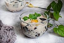 #入秋滋补正当时# 仙草芋圆奶茶的做法