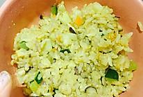 香菇洋葱焖饭的做法