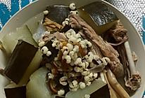 冬瓜薏米陈皮老鸭汤的做法