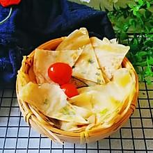 #十分钟开学元气早餐#饺子皮煎饼