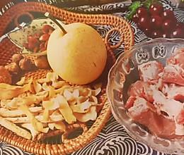 #助力高考营养餐#雪梨润肺骨头汤的做法