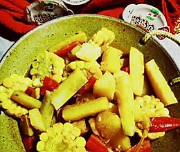 家乐浓汤宝焖鲜蔬的做法