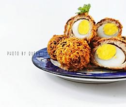 无油低脂苏格兰炸蛋的做法