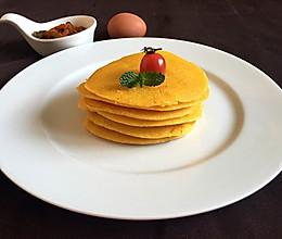 奶香玉米面饼#急速早餐#的做法