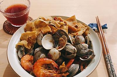 小白也可以做的快手麻辣煮海鲜