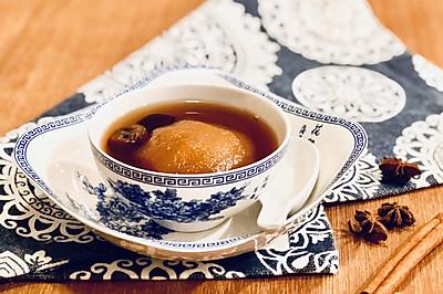 确保春节不感冒的雪梨桂圆姜糖水