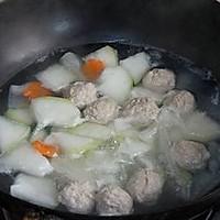 冬瓜肉丸汤的做法图解8