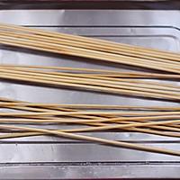 #一人一道拿手菜#时蔬孜然烤鸡肉串的做法图解7