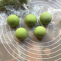 菠菜小花馒头#柏翠辅食节-辅食添加#的做法图解9