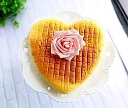 八寸淡奶油心形蛋糕的做法