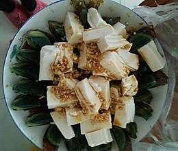 松花蛋拌豆腐的做法