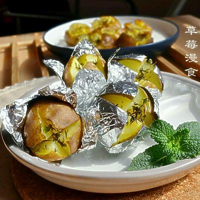 黄油烤小土豆