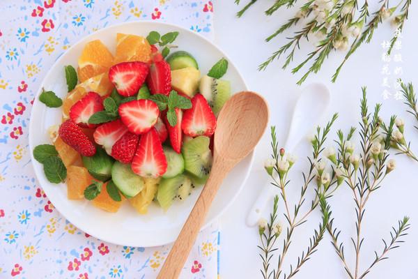 節后減肥~蔬果酸奶沙拉