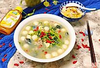 #太太乐鲜鸡汁玩转健康快手菜#粤式上汤豆苗|简单易做的做法