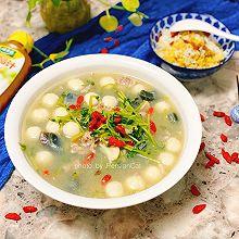 #太太乐鲜鸡汁玩转健康快手菜#粤式上汤豆苗|简单易做