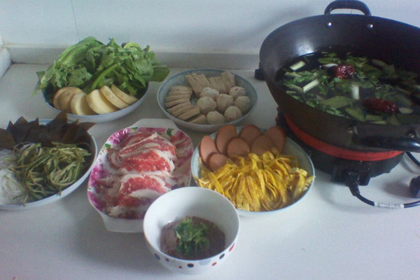 家吃健康火锅的做法