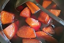 木瓜红酒的做法