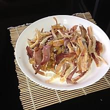 烤干鱿鱼(烤箱版)