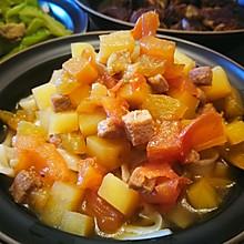 土豆茄丁面