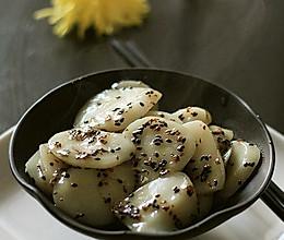 芝麻桂花糖年糕的做法