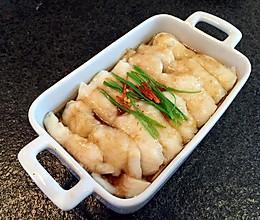龙利鱼蒸金针菇的做法