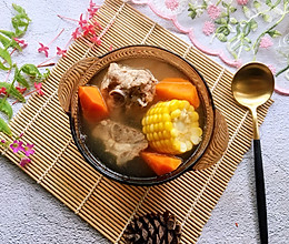 #秋天怎么吃#玉米胡萝卜骨头汤的做法