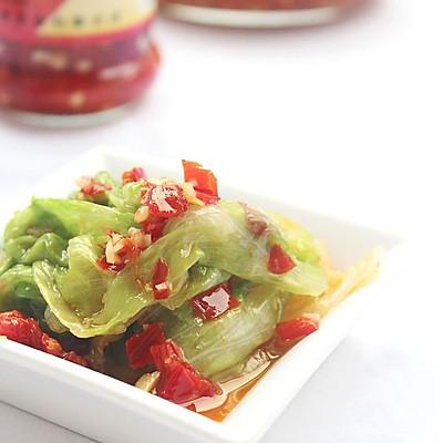 剁椒卷生菜