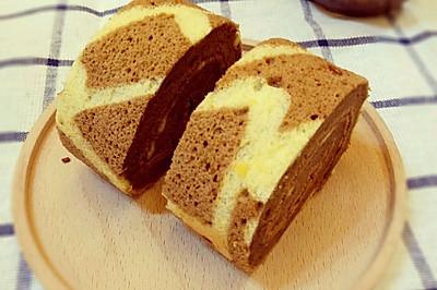 长颈鹿花纹蛋糕卷(无奶油)